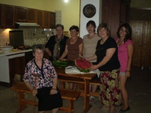 On the far left is Zia Filomena, my Nonno's sister who passed away last week.