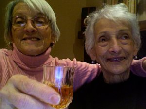 On the right is Zia Iole, my Grandmother's sister who is no longer with us.