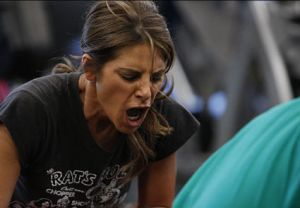 Jillian Michaels, one of the former fitness instructors on The Biggest Loser and BODYSHRED designer.