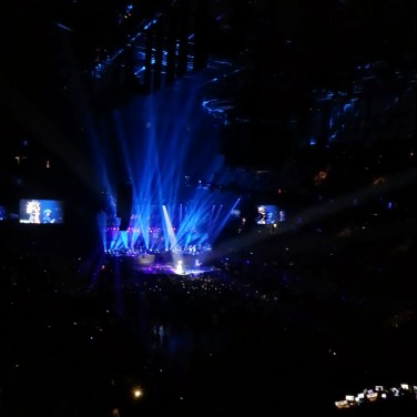 Beautiful lights for Beyoncé.