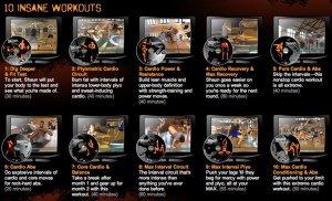 The Insanity workouts.