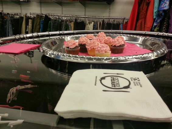 Cupcakes are never a bad idea. They're pink, like your nails will be this Breast Cancer Awareness Month!