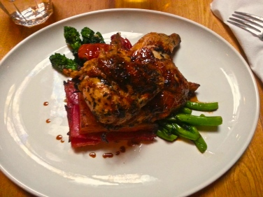 The cornish hen dish from Gusto 101.