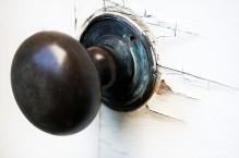 Rustic doornob from Jordan, ON.