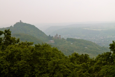 A castle casually hanging out in the hills over looking Bonn, no big deal.