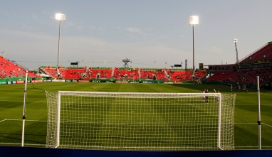 BMO Field before the FIN VS. PRK match.