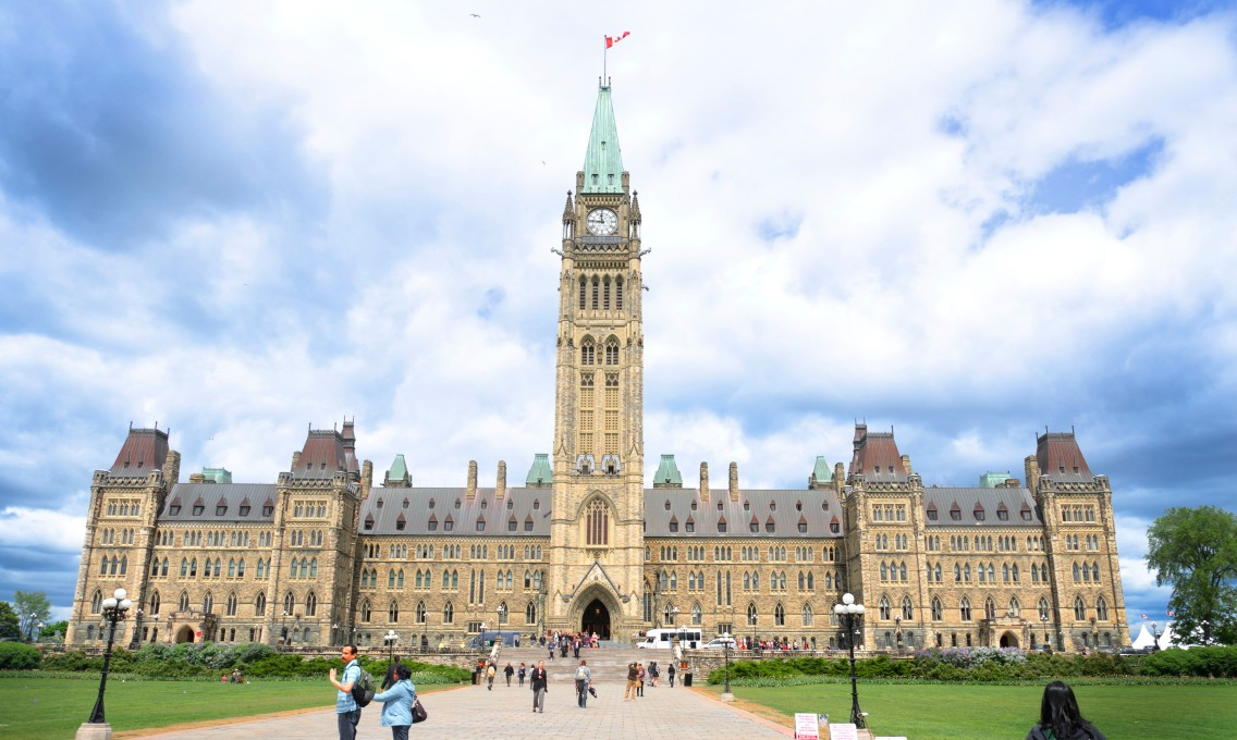 Parliament Hill and the Peace Tower
