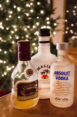 No tree decoration day is complete without our favourite drinks.
