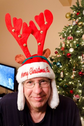did i mention we have some crazy christmas hats