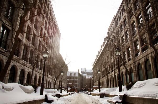 Old Montréal.