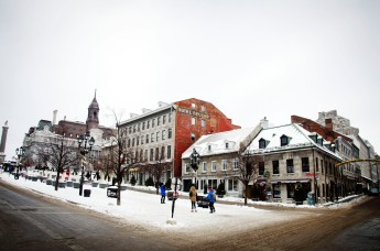Place Jacques-Cartier in Old Montréal.