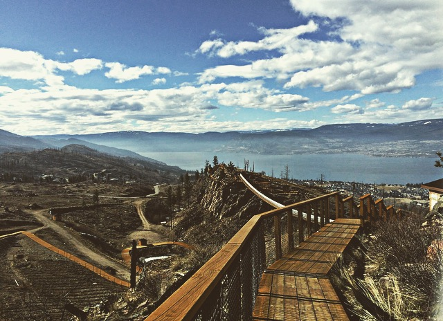 Kelowna Mountain Suspension Bridges, Kelowna