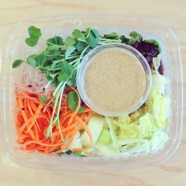 Scrumptious salad from The Juice Truck. Photo via: https://instagram.com/juicetruck/.