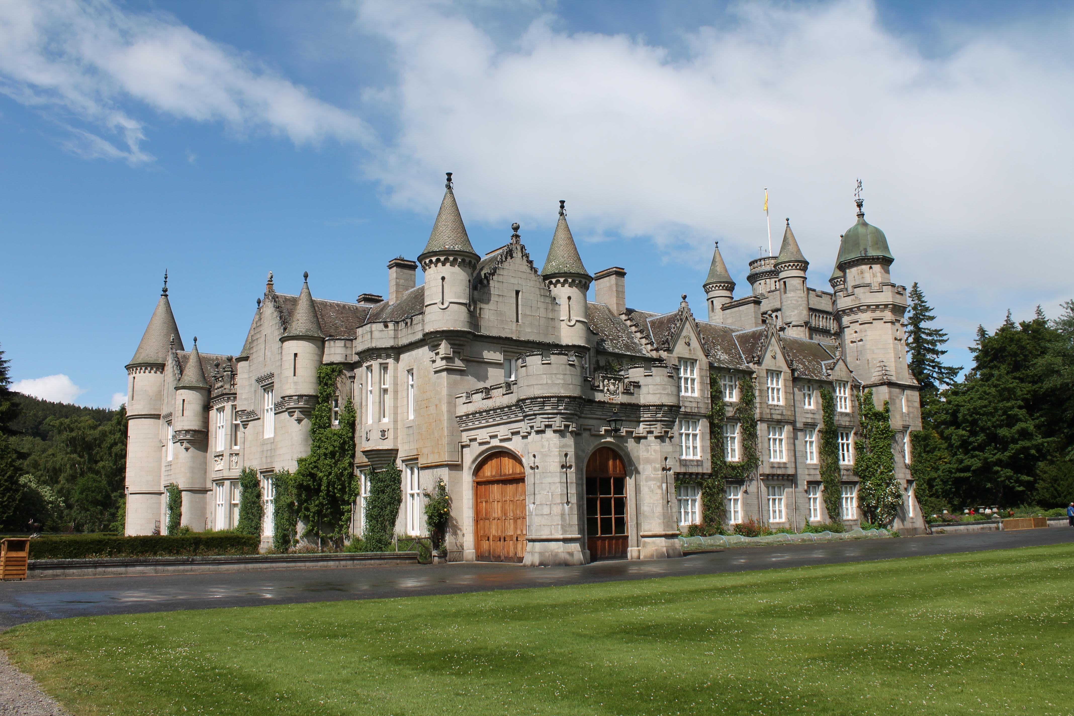 Balmoral Castle A Quarter Young