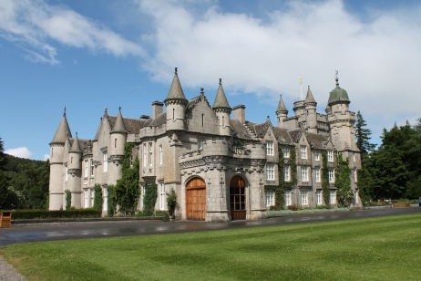 Balmoral Castle, Queen Elizabeth II's private summer residence.