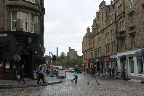 A look at the stoplights in Edinburgh. Can you spot them?