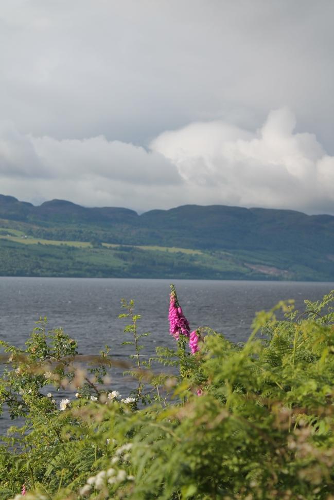 Loch Ness as a storm rolls in.