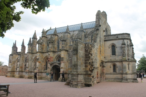 Roslyn Chapel, also the site of filming for the Da Vinci Code.