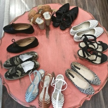 Shoes for sale at Syvie and Shimmy. Photo by Leviana Coccia.