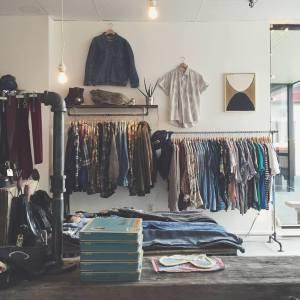 Take Time Vintage's store layout. Via: Take Time Vintage.