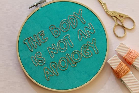 Photo courtesy of: Femmebroidery.