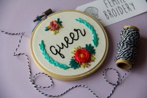 Photo courtesy of: Femmebroidery.