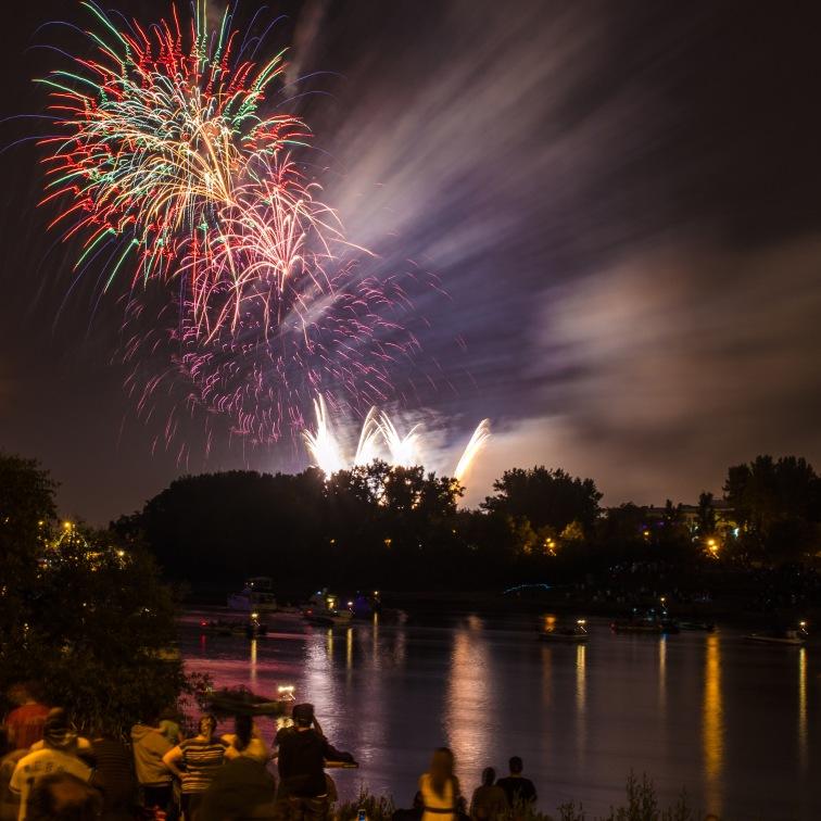 Watching Canada Day Fireworks. Photo by: Kyle Schappert. @kyleschappert/@everydaywinnipeg