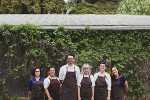 (Most of) the Backyard team. Photo courtesy of: Mariana Brito.