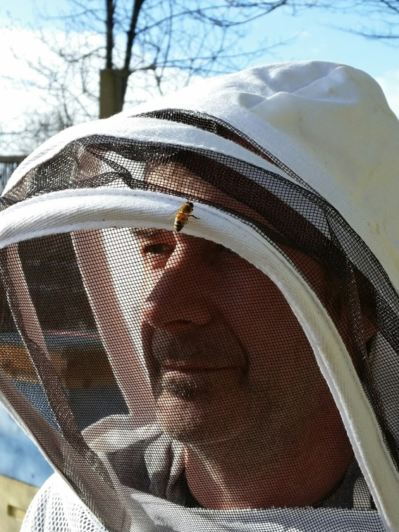 Stephen Sandve, Vancouver business owner, cancer survivor and community advocate. Photo courtesy of: EastVan Bees.