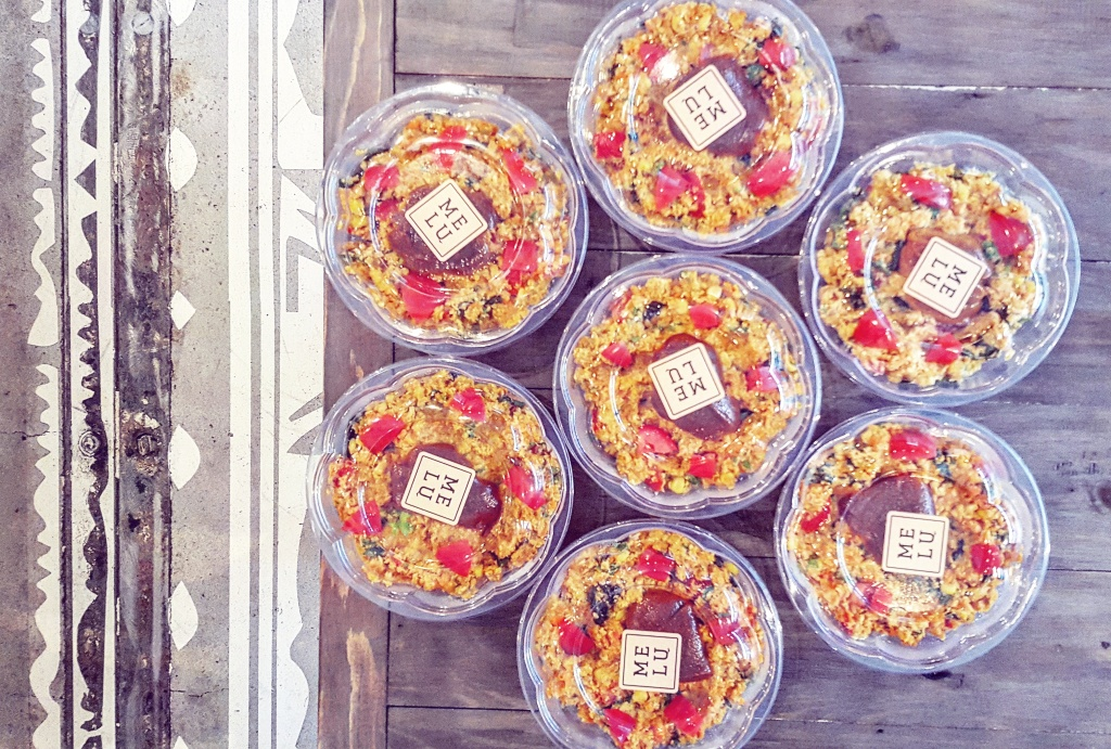 Take-away treats. Photo courtesy of: MELU Juice & Health Bar.