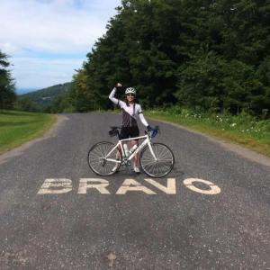 Chloë Hill is a Canadian cyclist and ambassador for the Ride to Conquer Cancer. Photo courtesy of: Chloë Hill.
