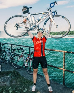 Chloë Hill at the 2016 Enbridge Ride to Conquer Cancer benefiting Princess Margaret Cancer Centre. Photo courtesy of: Chloë Hill.