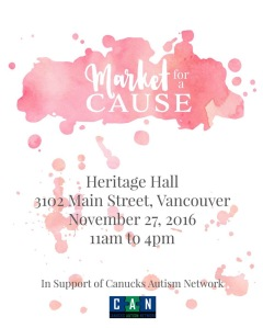 Market for a Cause hosts their first event on November 27 in Vancouver at Heritage Hall! Rose Kaech, founder of event series Market for a Cause. Courtesy of: Rose Kaech.