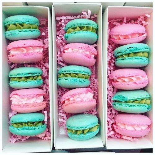 Macarons by The Cake Mama. Courtesy of: Jzabela De Paz.