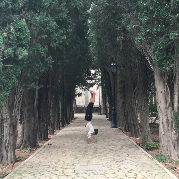 Serena Bufalino is an avid yoga teacher and humanitarian. Courtesy of Serena Bufalino.