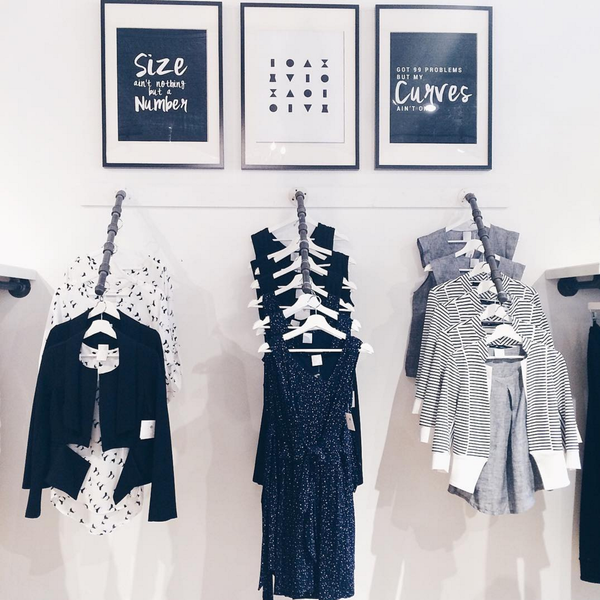 Fabulous finds at Shopgirls, a Canadian in-store and online retailer that sells locally produced clothing items, while spreading love for different body types, shapes and sizes. Via https://www.shopgirls.ca.